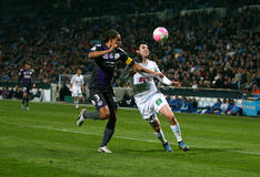 Olympique de Marseille vs Toulouse FC Stock Images