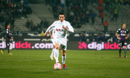 Olympique De Marseilles Morgan Amalfitano Stockfotos