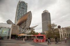 olympique gauche, Barcelone, Espagne Photo libre de droits