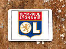 Olympique Lyon, Olympique Lyonnais, football club logo Royalty Free Stock Images
