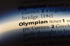 olympisch stockbilder