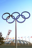 Olympisch Stockbild