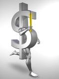 Olympisch geld Stock Afbeelding