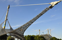 Olympisch Park München - horizon royalty-vrije stock foto's