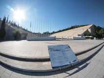 Olympisch stadion in Athene Stock Fotografie