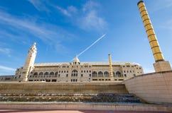 Olympisch Stadion Barcelona Royalty-vrije Stock Afbeeldingen