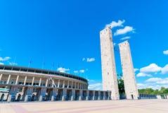 Olympisch Stadion in Berlijn Stock Foto's