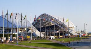 Olympisch stadion Fisht in Sotchi, Rusland Stock Foto's