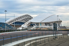 Olympisch stadion Fisht in Sotchi, Rusland Stock Afbeelding