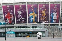Olympisch Stadion in Kiev Stock Fotografie