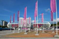 Olympisch stadion in Kyiv, de Oekraïne Stock Afbeelding