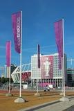Olympisch stadion in Kyiv, de Oekraïne Stock Afbeeldingen