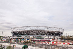 Olympisch Stadion, Londen, Engeland Royalty-vrije Stock Afbeelding