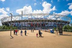 Olympisch Stadion in Londen, het UK Stock Afbeeldingen
