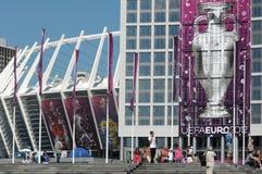 Olympisch stadion (NSC Olimpiysky) Stock Foto
