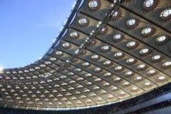 Olympisch stadion (NSC Olimpiysky) in Kyiv Stock Foto