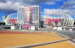 Olympisch stadion (NSC Olimpiysky), Kyiv, de Oekraïne Stock Foto