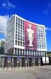 Olympisch stadion (NSC Olimpiysky), Kyiv, de Oekraïne Royalty-vrije Stock Foto