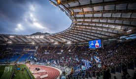 Olympisch stadion in Rome, Italië Stock Foto
