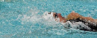 Olympisch, Welt und europäischer HUNNE Meisterschwimmer Katinka HOSSZU lizenzfreie stockfotos