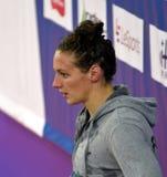 Olympisch, Welt und europäischer Meister, HUNNE Weltrekord-Halterschwimmer Katinka HOSSZU Lizenzfreies Stockbild