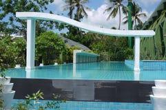Olympisch zwembad in Thailand Stock Afbeeldingen