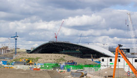 Olympische Aquatics Mitte London- Stockbilder