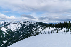 Olympische Berge Stockbilder