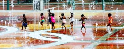 Olympische Farben Stockfotos