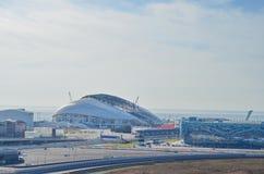 Olympische Gegenstände Sochis Stockfotografie