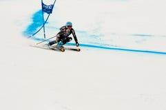 Olympische gouden mancuso van medaillewinnaarJulia Stock Afbeeldingen