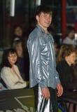 Olympische kampioen in kunstschaatsen Alexei Yagudin. stock afbeeldingen