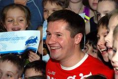 Olympische kampioensturner Alexei Nemov Royalty-vrije Stock Fotografie