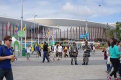 Olympische Orte für Rio2016 Lizenzfreies Stockbild