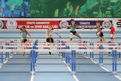 Olympische Schwellen-Innenwettbewerbe Lizenzfreies Stockfoto
