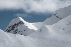 Olympische Skitoevlucht, Krasnaya Polyana, Sotchi, Rusland Royalty-vrije Stock Afbeelding