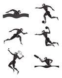 Olympische spelen vector illustratie