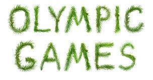 Olympische Spelen Stock Afbeeldingen