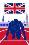Olympische spelen Londen 2012 Royalty-vrije Stock Foto