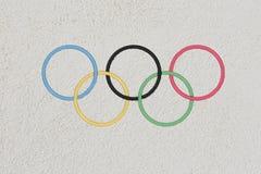 Olympische spelen in Rio 2016 Stock Afbeeldingen