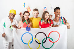 Olympische spelen Rio de Janeiro 2016 Brazilië royalty-vrije stock foto's