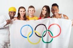 Olympische spelen Rio de Janeiro 2016 Brazilië Royalty-vrije Stock Fotografie