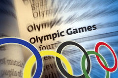 Olympische Spiele Stockfoto