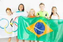 Olympische Spiele Rio de Janeiro Brasilien 2016 Lizenzfreies Stockfoto