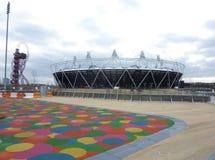 Olympische Spiele stationieren in Strafford Stockbild