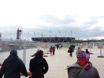 Olympische Spiele stationieren in Strafford Lizenzfreie Stockfotos