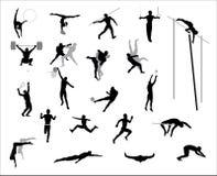 Olympische Spiele. Vektor. Stockbilder