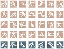 Olympische Symbole stock abbildung