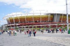 Olympische Tennis-Mitte für Rio2016 Lizenzfreies Stockbild