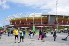 Olympische Tennis-Mitte für Rio2016 Stockfotos